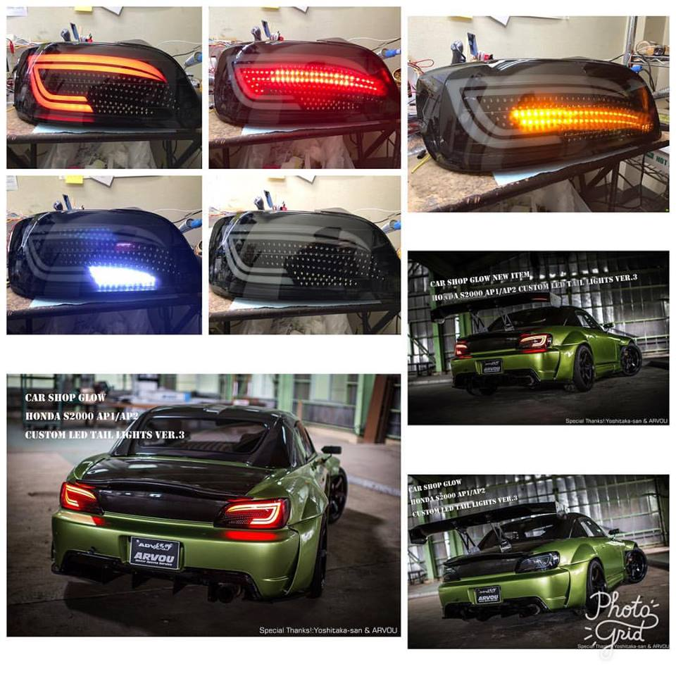 Car Shop Glow Honda S2000 AP1/AP2 Custom LED Tail Lights