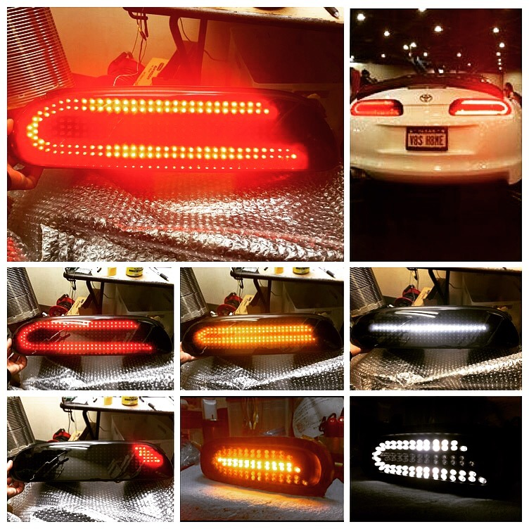 (Ver. 1) Car Shop Glow TOYOTA SUPRA JZA80 Custom LED Tail