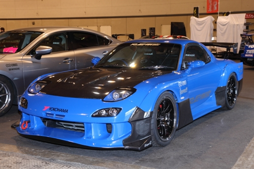 RE Amemiya D1 wide body kit CF MODEL-05 RX-7 FD3S|CarshopGLOW
