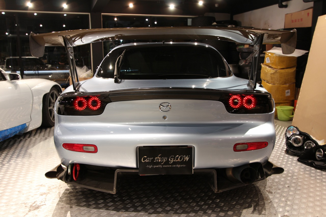Rx 7 Fd3s Original Car Shop Glow Led Tail Lights Ver 2 Customizable