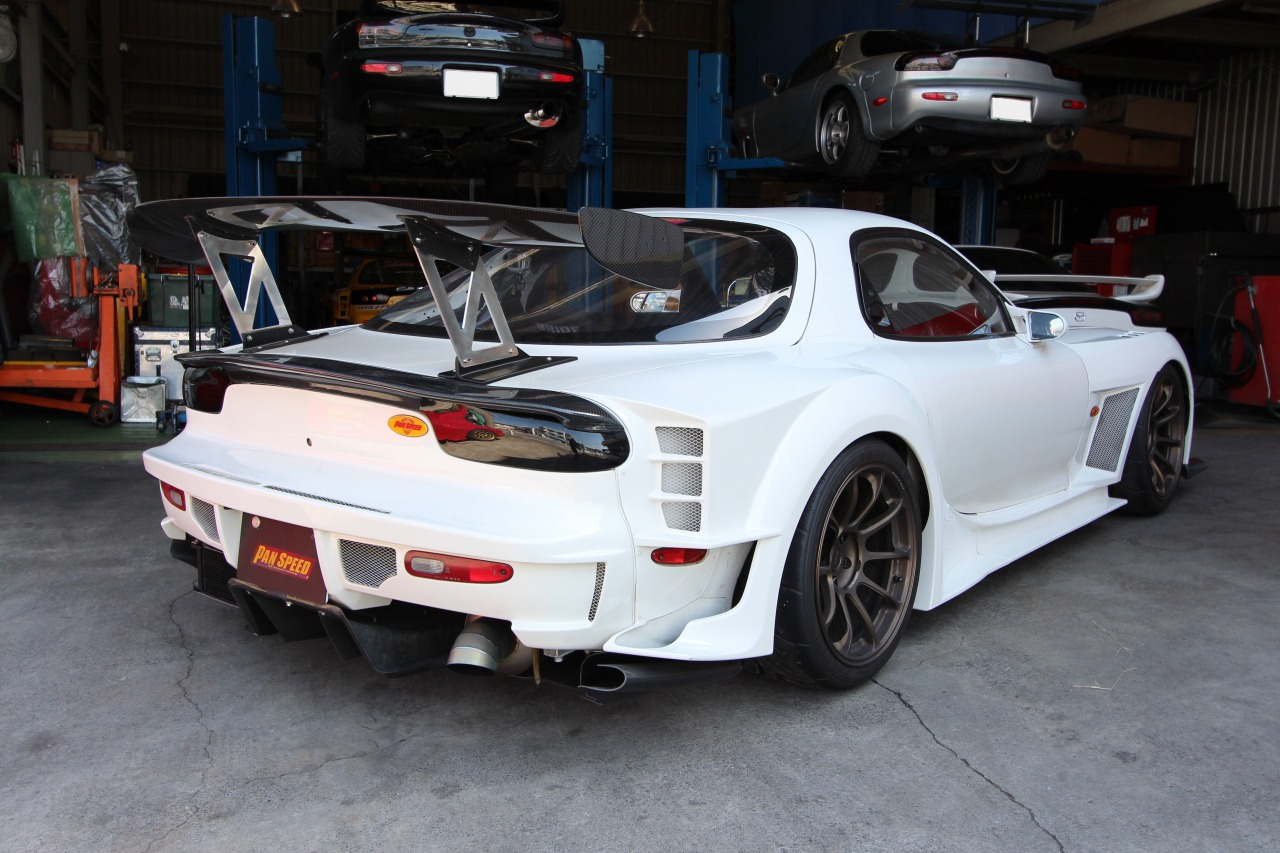 PANSPEED New wide body kit Ver 2015 RX 7 FD3S